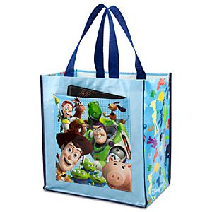 Sky Blue Reusable Toy Story Tote