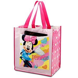 Rainbow Reusable Minnie Mouse Tote