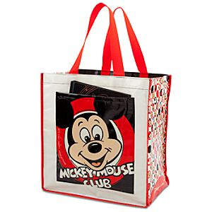 Reusable Mickey Mouse Club Tote