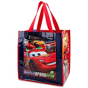 Reusable World Grand Prix Lightning McQueen Tote