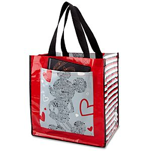 Reusable Love Mickey Mouse Tote