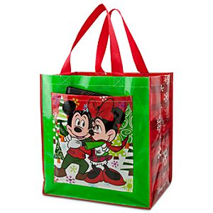 Mickey and Minnie Mouse Tote - Holiday