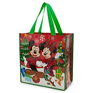 Mickey Mouse and Friends Reusable Tote - Holiday