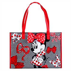 Minnie Mouse Zippered Reusable Tote