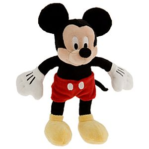 Mickey Mouse Mini Bean Bag Plush