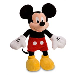 Mickey Mouse Plush Toy -- 17'' H