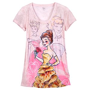 Disney Princess Designer Belle Tee for Women