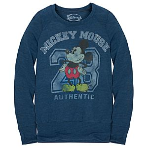 Long Sleeve Mickey Mouse Tee for Women