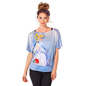 The Art of the Disney Princess Cinderella Tee for Women by Disney Couture