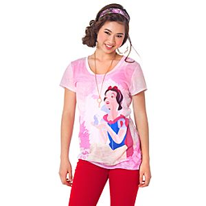 The Art of the Disney Princess Bluebird Snow White Tee for Women by Disney Couture