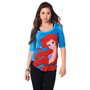 The Art of the Disney Princess Ariel Tee for Women by Disney Couture