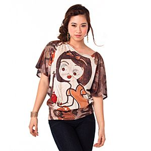 The Art of the Disney Princess Apple Snow White Tee for Women by Disney Couture