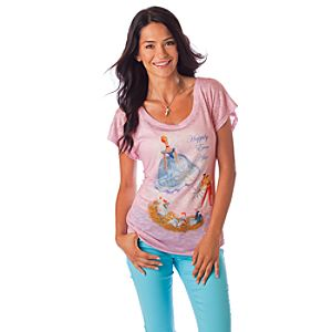 Happily Ever After Cinderella Tee for Women