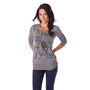 Long Sleeve Disney Villains Tee for Women