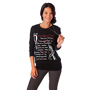 Long Sleeve Disney Villains Evil Queen Tee for Women