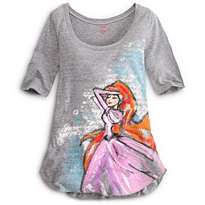 Romantic Princess Ariel Tee for Women