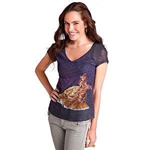 Belle Tee for Women - Disney Fairytale Designer Collection