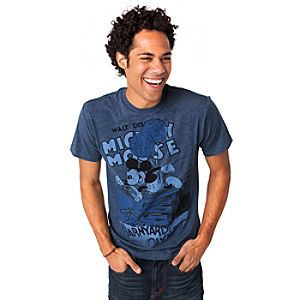 Barnyard Olympics Mickey Mouse Tee for Men