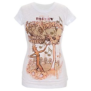 Flowers and Trees Silly Symphony Tee for Women