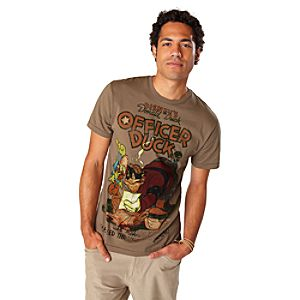 Officer Duck Donald Duck Tee for Men