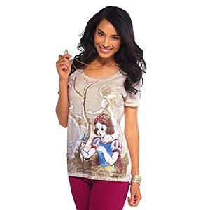 Vintage Disney Snow White Tee for Women