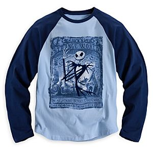 Jack Skellington Raglan Tee for Men - Artist Series One