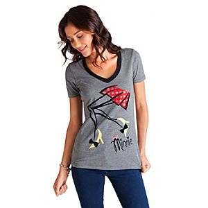 Mademoiselle Minnie Ringer Tee for Women