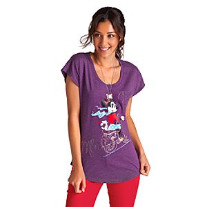 Mademoiselle Minnie Scoop Tee for Women