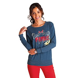 Mademoiselle Minnie Raglan Tee for Women