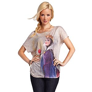 Disney Villains Fashion Snow White Evil Queen Tee for Women