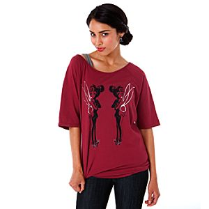Twin Tinker Bell Tee for Women