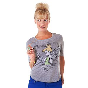 Happy Thoughts The Art of Tinker Bell Tee for Women