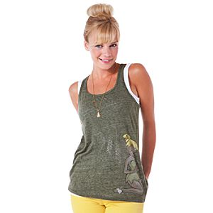 Zippered Tinker Bell Tank Tee