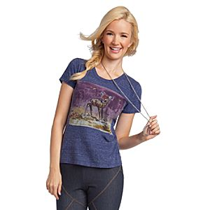Bambi Tee from Disney by: Patterson J. Kincaid for Women