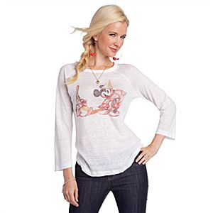 Long Sleeve Sorcerer Mickey Tee from Disney by: Patterson J. Kincaid for Women