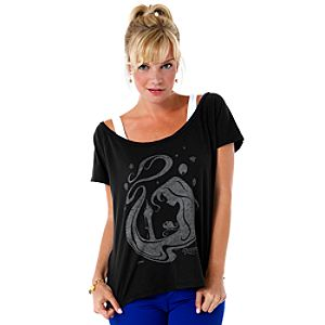 Graphic Rapunzel Tee for Women