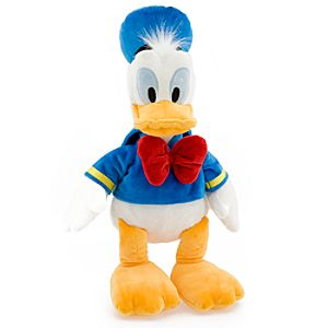 Donald Duck Plush Toy -- 18 H
