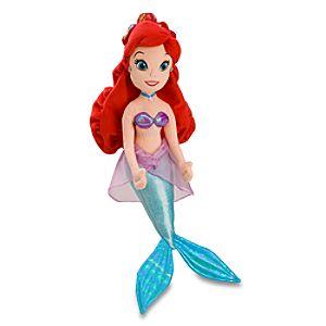 Plush Ariel Doll -- 20 H