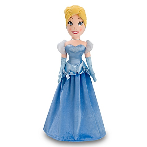 Cinderella Plush Doll -- 20''