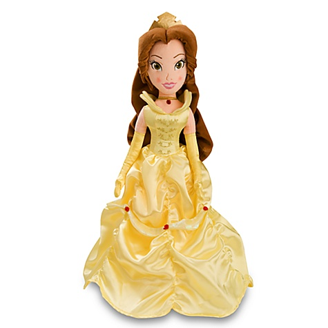 Belle Plush Doll -- 20''