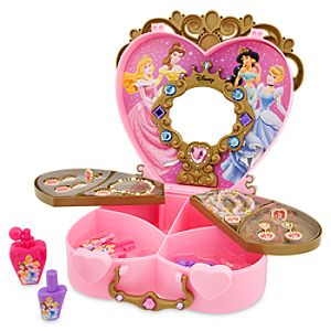Disney Princess Glamour Case Play Set