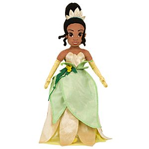 Plush The Princess and the Frog Princess Tiana Doll -- 21 H