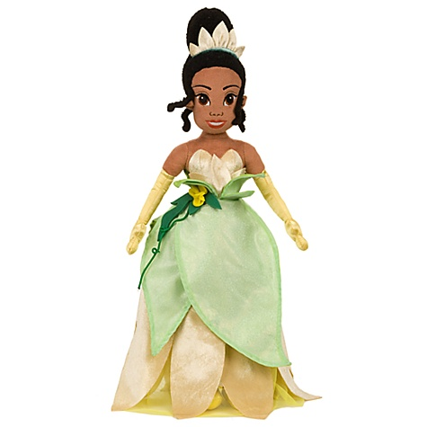 The Princess and the Frog Princess Tiana Plush Doll -- 21''