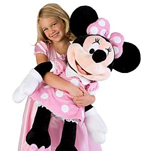 Large Minnie Mouse Plush Toy -- 32