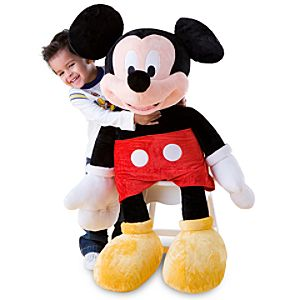 Giant Mickey Mouse Plush Toy -- 41