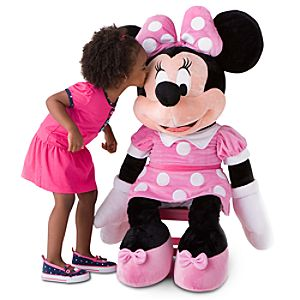 Giant Minnie Mouse Plush Toy - 42''