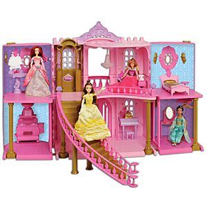 Disney Princess Enchanted Palace Dollhouse Play Set