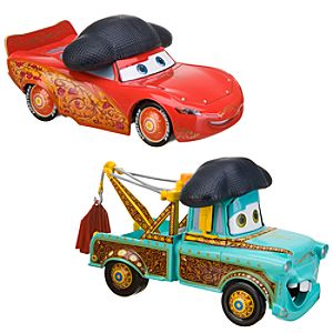 Disney Cars Toon El Materdor Die Cast Car Set -- 2-Pc.