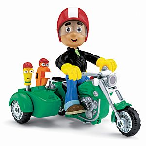 Handy Mannys Fix It Motorcycle Toy Vehicle