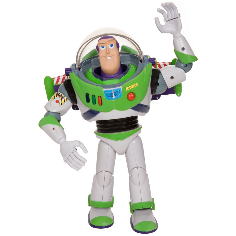 Talking Buzz Lightyear Action Figure -- 12''